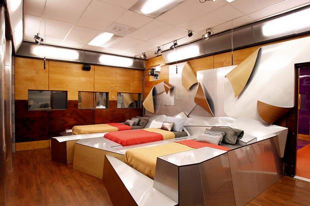 Big Brother 13 futuristic bedroom