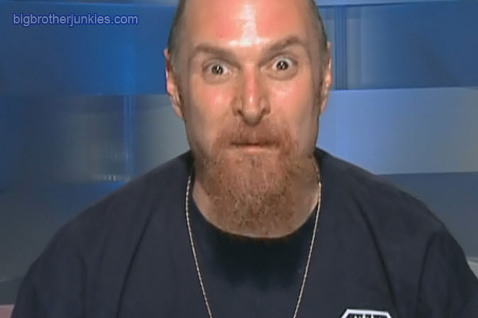 big brother 13 adam crazy face