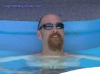 big brother adam in the pool