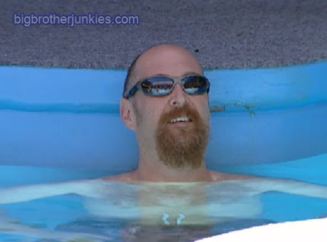 big brother adam in the pool