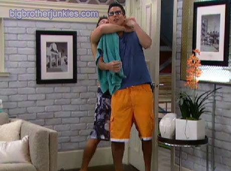 jeff choking dominic big brother 13