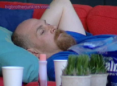 adam laying down