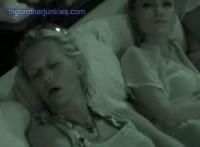 houseguests sleeping