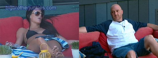 big brother 13 daniele and adam talking