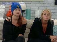 Jordan and Rachel in the HoH room