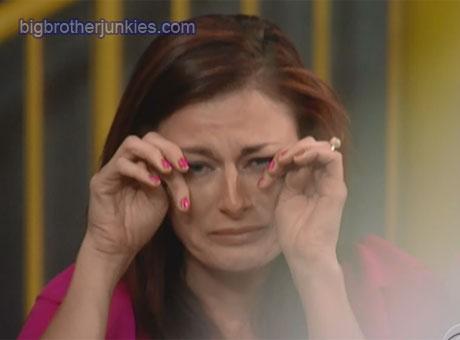 rachel crying 2