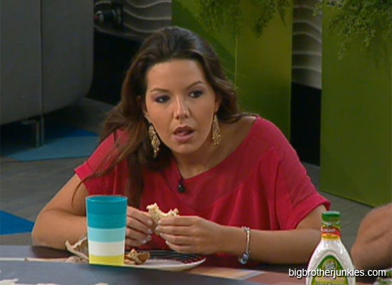 danielle eating big brother 14