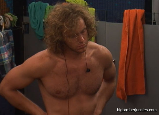 frank talking to britney big brother 14