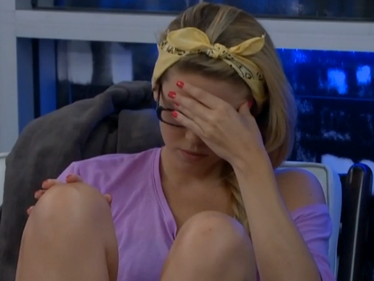 Where did Aaryn's game go wrong?  Oh right, the beginning
