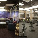 Indoor gym inside the big brother house