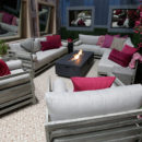 Outside back yard for Celebrity Big Brother