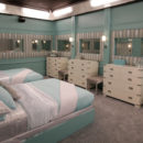 Celebrity Big Brother bedroom